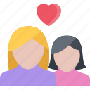 couple, love, marriage, relationship, valentines day icon