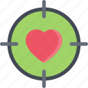 couple, heart, love, marriage, relationship, sight, valentines day icon