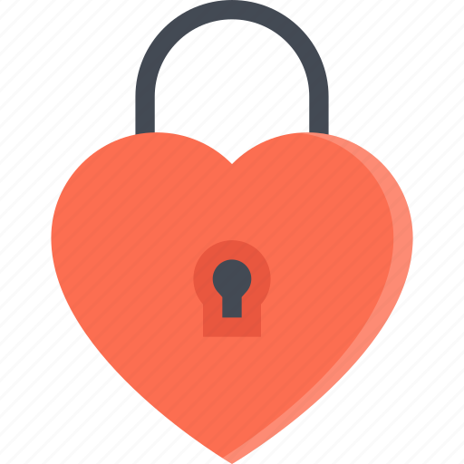 couple, lock, love, marriage, relationship, valentines day icon