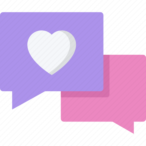 couple, love, marriage, relationship, talk, valentines day icon