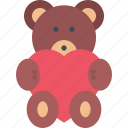 bear, couple, love, marriage, relationship, teddy, valentines day icon