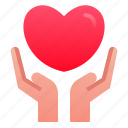 care, hand, love, marriage, romance, valentine, wedding icon