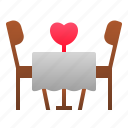 dating, dining, fine, love, romance, valentine, wedding icon