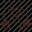 love, hands, holding, sign, heart, romance