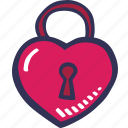 love, romantic, valentines, feelings, padlock, closed, valentines day
