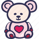 bear, feelings, love, romantic, teddy, valentines, valentines day