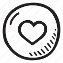 feelings, letter, love, o, romantic, valentines, valentines day icon