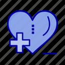 care, health, heart, hospital, love icon