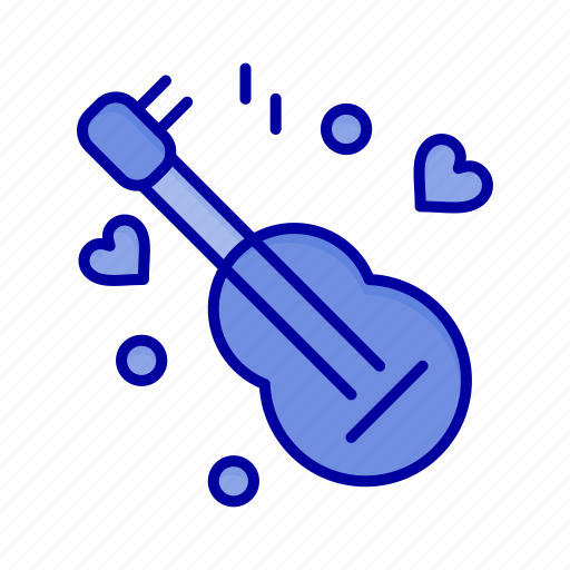 Guitar, love, music, song icon - Download on Iconfinder