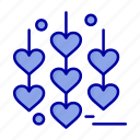chain, heart, love icon