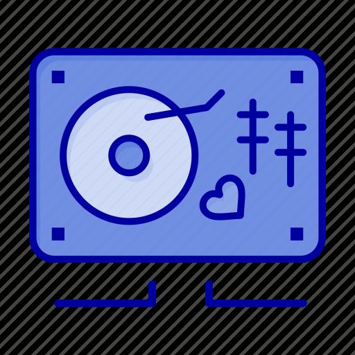 Heart, love, music, wedding icon - Download on Iconfinder