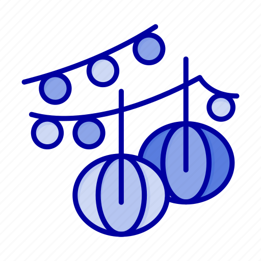 Balls, decoration, hanging, lantern icon - Download on Iconfinder