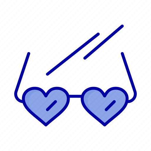 Glasses, heart, love, wedding icon - Download on Iconfinder