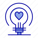 bulb, heart, love, wedding