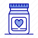 heart, love, medicine, wedding icon