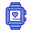 handwatch, heart, love, wedding