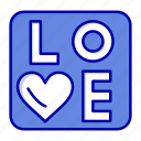 heart, love, sign, wedding icon