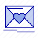 heart, love, mail, wedding
