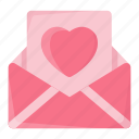 envelope, heart, letter, love, love letter, message, valentine