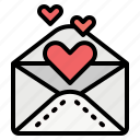 envelope, invitation, love, mailing, message