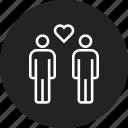 couple, gay, homosexual, lgbt icon