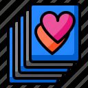 card, romance, heart, lot, more
