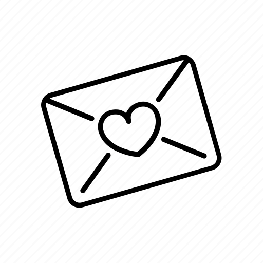 invitation, letter, list, love, message icon