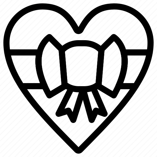 gift, love, romantic, valentine icon