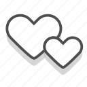 dating, heart, love, romance, valentine, wedding icon