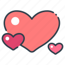 day, heart, love, romance, romantic, valentine, wedding icon
