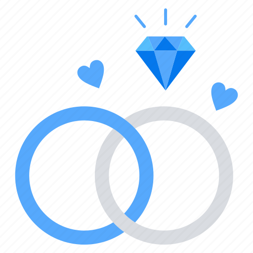 engagement, love, ring, valentine icon