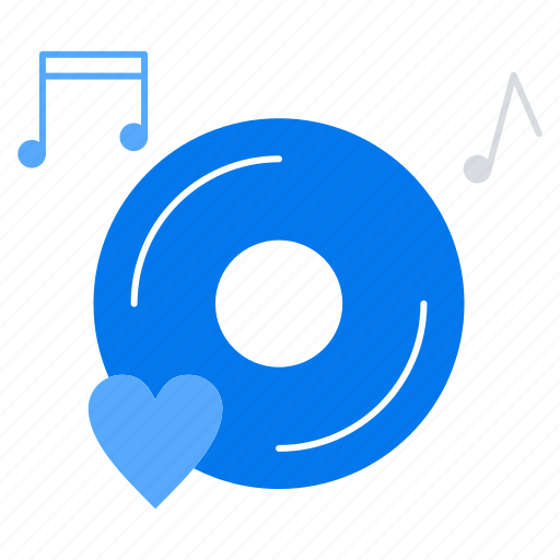 music, romantic, sound icon