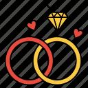 engagement, love, ring, valentine