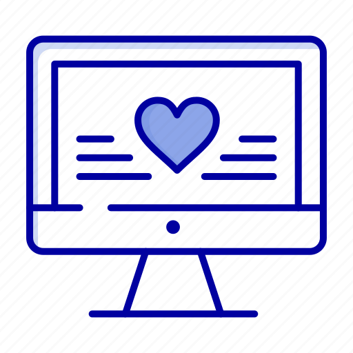 Computer, heart, love, wedding icon - Download on Iconfinder