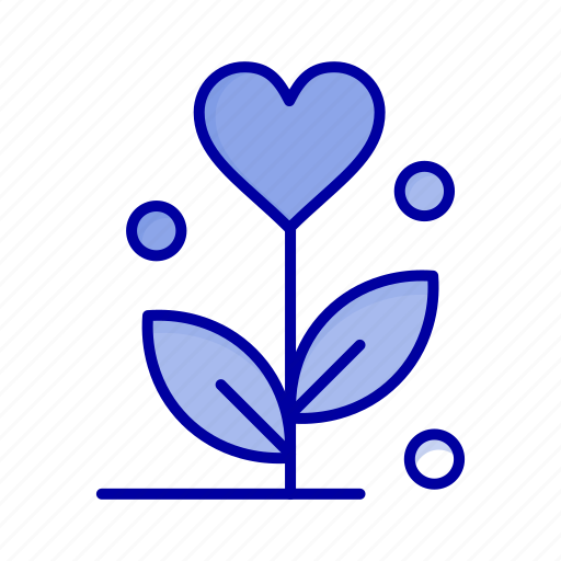 Flower, heart, love, wedding icon - Download on Iconfinder