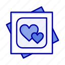 card, heart, love, marriage, proposal icon