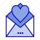 card, letter, love, mail icon