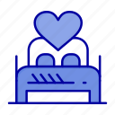bed, couple, love, lover, night, room, valentine