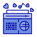 fm, music, radio, songs, speaker icon