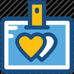 love badge, love card, valentine card, valentine greeting, valentine wishes icon