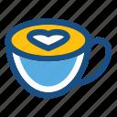cappuccino, coffee, coffee cup, cup, espresso icon