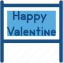 celebration, happy valentine, love day, romance, valentine day icon