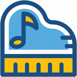 clavichord, grand piano, harpsichord, musical instrument, pianoforte icon