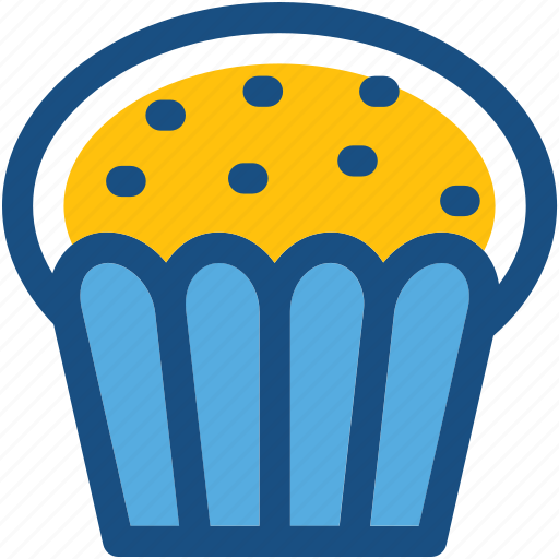 bakery, cupcake, dessert, muffin, pie icon