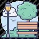 air, fresh, outdoor, park icon