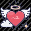 love, romantic, day, valentines icon