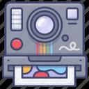 polaroid, photograph, camera, photo icon