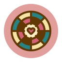 love, target icon