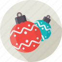 balls, christmas, decoration, toy, tree toys, xmas icon