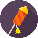 celebration, firecracker, fireworks, petard, rocket, salute, xmas icon